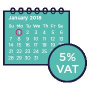 VAT calendar